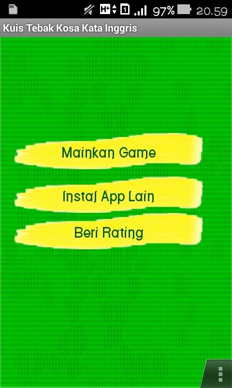 Kuis Tebak Kosa Kata Inggris 5 1 0 Apk Download Android Educational Games