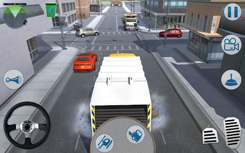 Road Garbage Dump Truck Driver 2.3.6 screenshot 1