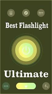 Best Flashlight Ultimate 1.0 screenshot 1