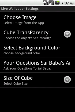 Sai Baba Cube Live WallPaper 1 1 APK Download - Android