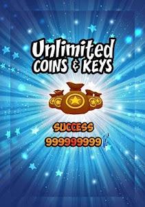 Unlimited Subway Coins Prank 1.1 screenshot 2