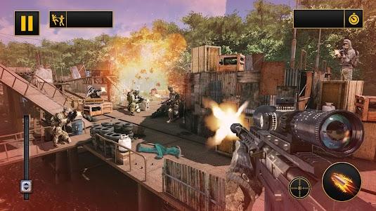 Modern Action Commando Fps : Mountain Sniper Shoot 1.0.1 screenshot 9