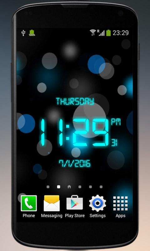 Digital Clock - Screen Watch 2 1 APK Download - Android