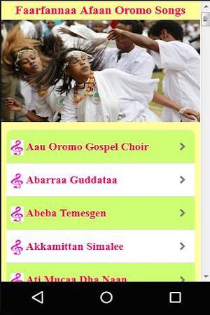 Faarfannaa Afaan Oromo Songs 1 0 APK Download - Android Music