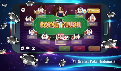 Java Poker Texas:Pulsa Free 1.3 screenshot 10
