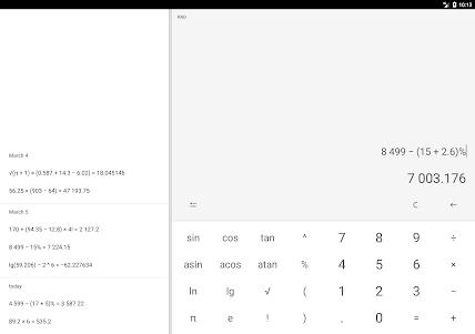 Calculator (no ads) 2018.9.25 screenshot 9