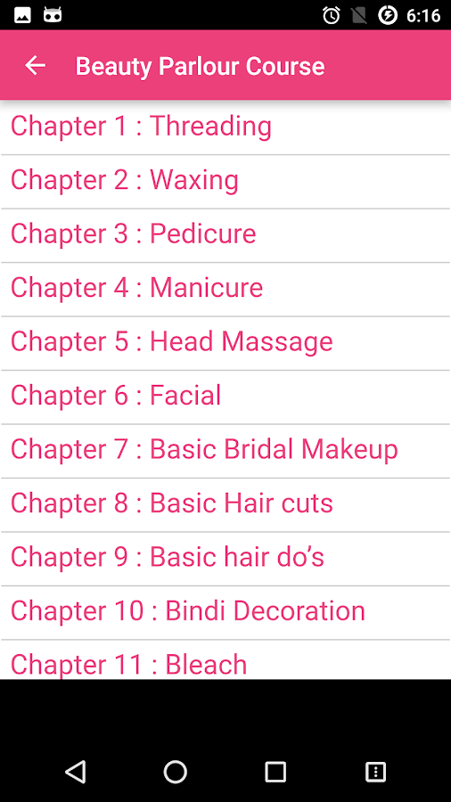 Beauty Parlour Course Free 1 0 APK Download - Android Books