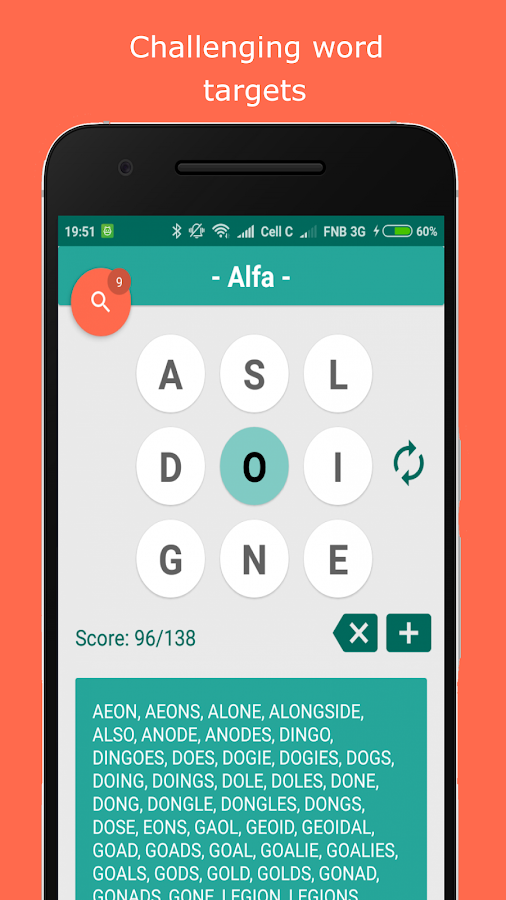 9 Letter Jumble - Anagram word scramble 2 0 1 APK Download - Android