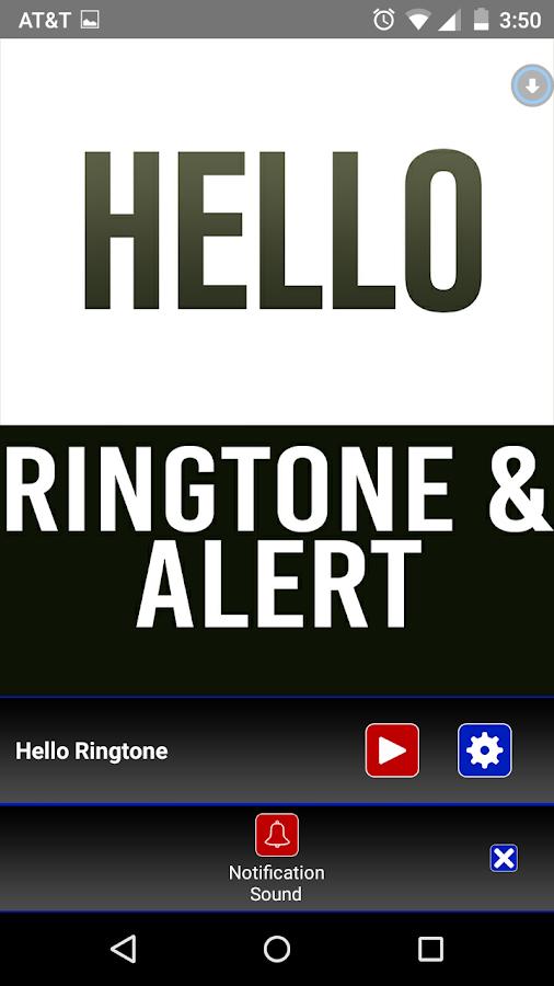 ringtone hello song