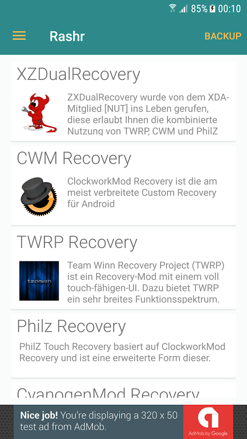 ROOT] Rashr - Flash Tool 2 4 3 APK Download - Android Tools Apps