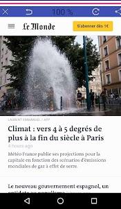 Nouvelles France 1.0 screenshot 1
