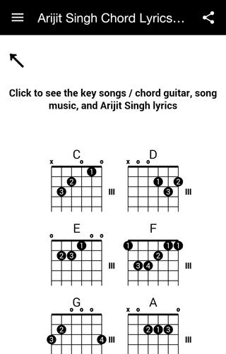Arijit Singh Chord Lyrics Mp3 100 Apk Download Android