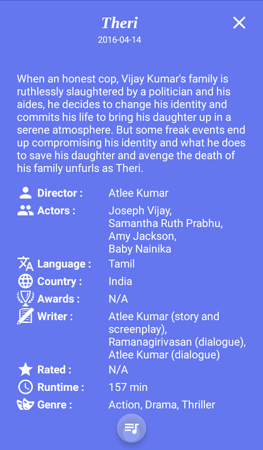 Theri Songs & Lyrics 9 APK Download - Android Music & Audio Apps