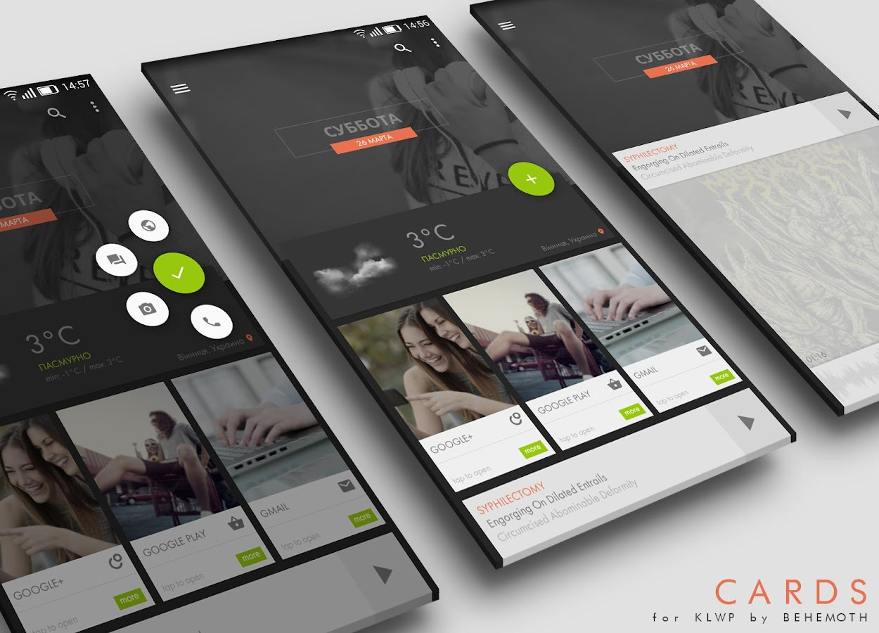 cards theme for klwp 1 0 apk download android personalization apps