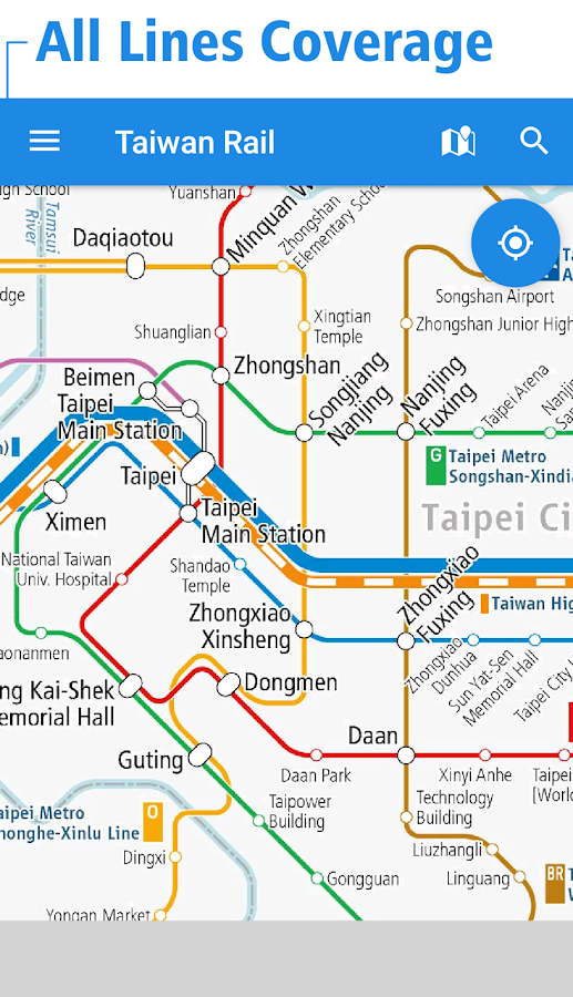 Taiwan Rail Map - Taipei 3 4 4 APK Download - Android cats