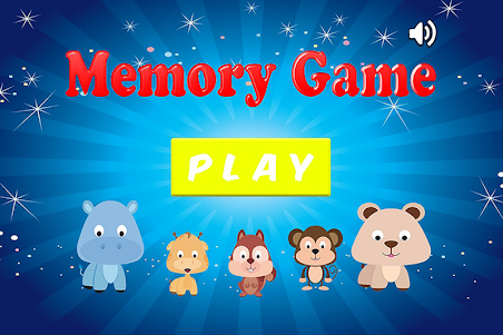 Animal Memory Game For Kids 1.0.0 screenshot 1