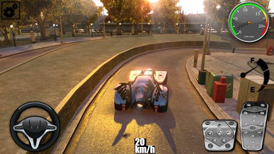 Driving The Batmobile 1.1 screenshot 5