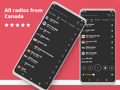 Radio FM Canada 1.9.19 screenshot 1