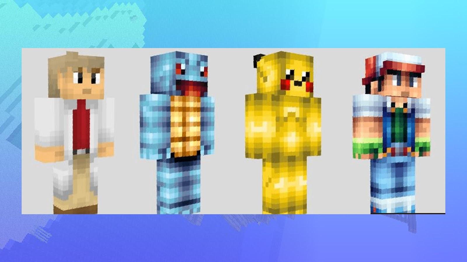 Skins For Minecraft Pokemon APK Download Android - Skins minecraft kostenlos downloaden