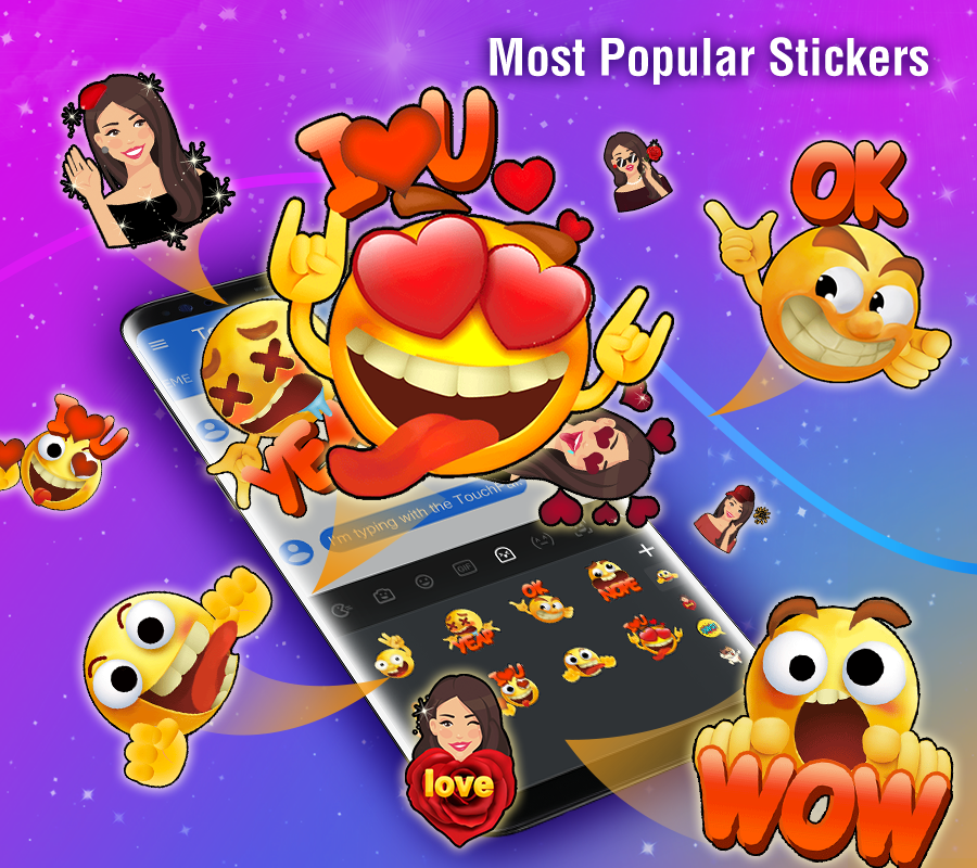 touchpal cute emoji keyboard premium apk
