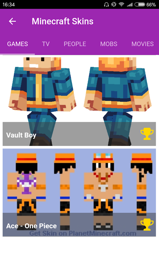 Skins For Minecraft PE APK Download Android Tools Apps - Skins para minecraft pe one piece