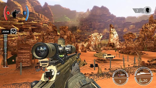 Mountain Sniper Shooting: 3D FPS 7.6 screenshot 3