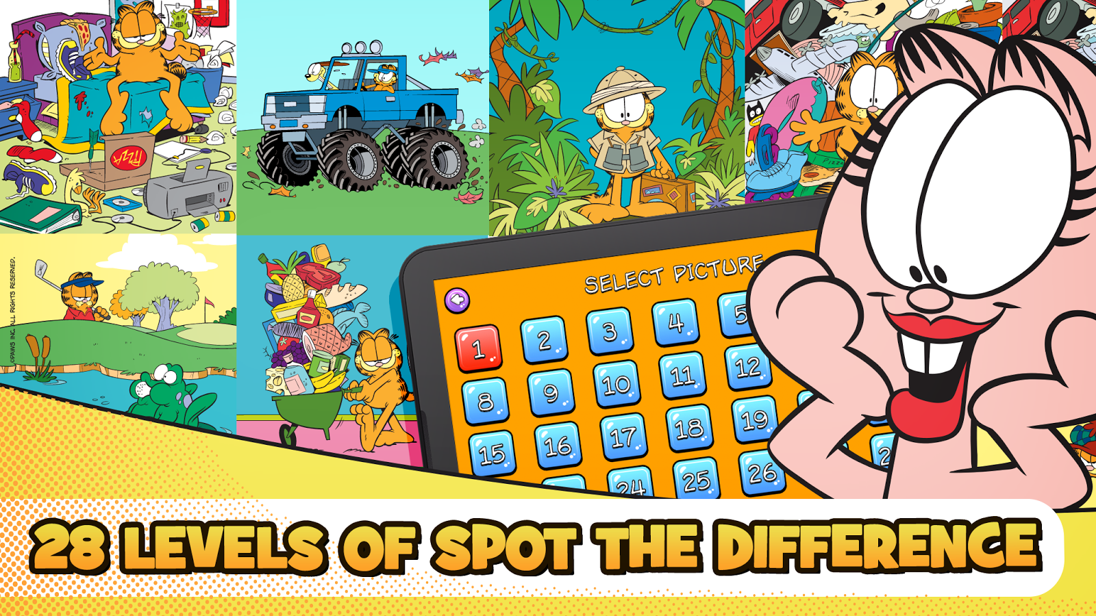 Garfield Spot the Difference 1 0 3 APK Download Android