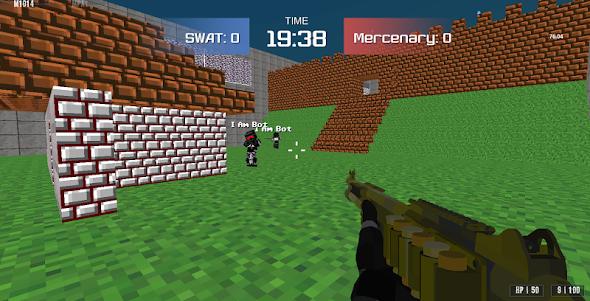 Combat Pixel Arena 3D - Fury Man 1.4 screenshot 1