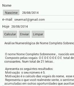 Numerologia-TFA 1.0 screenshot 2