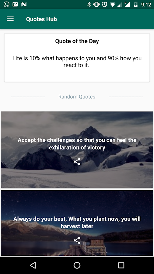 Quotes Hub Impressive Inspirational Quotes Hub 4848 APK Download Android Productivity Apps