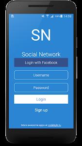 Social Network - CodeCanyon Preview 2.5 screenshot 1