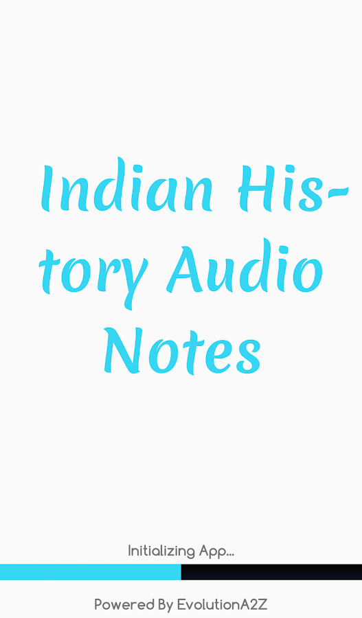 Indian History Audio Notes 2 0 APK Download - Android Education Apps