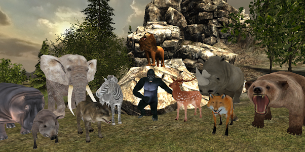 Jungle Sniper Hunter Simulator 1.1 screenshot 1
