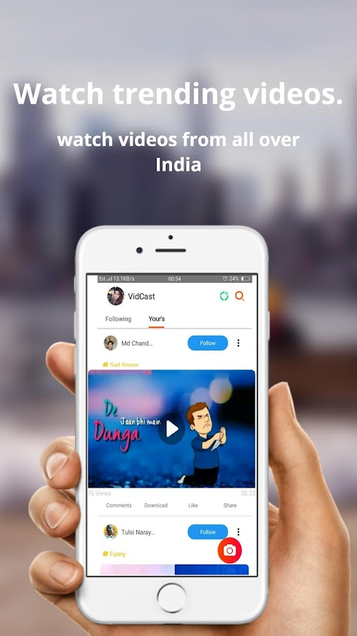 VidCast - India's App for Status, Videos, and Fun 1 3 5 APK Download