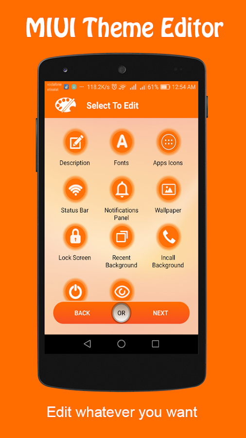 Theme Editor For MIUI 1 7 2 APK + OBB (Data File) Download - Android