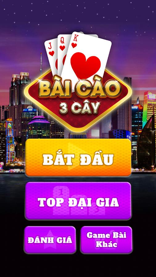 Bai Cao - Cao Rua - 3 Cay 1.01 screenshot 1 ...