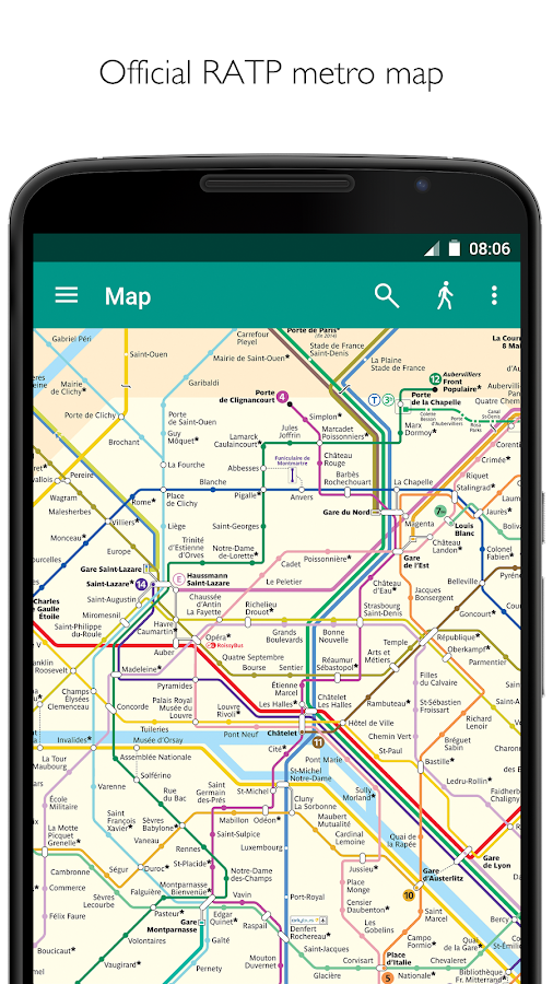 app for paris metro