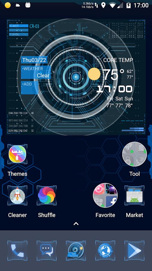 J A R V I S Launcher - Hologram Futuristic Theme 1 0 4 APK