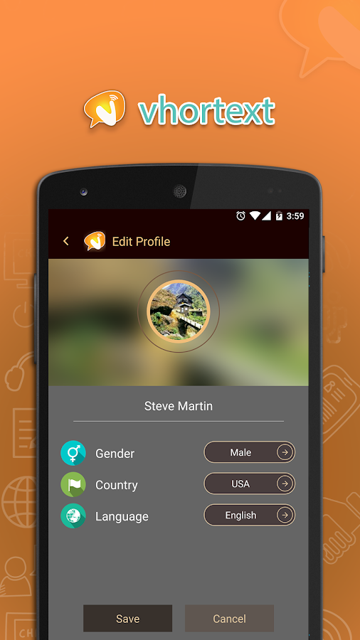 Vhortext Messenger 2 7 APK Download - Android Social Apps