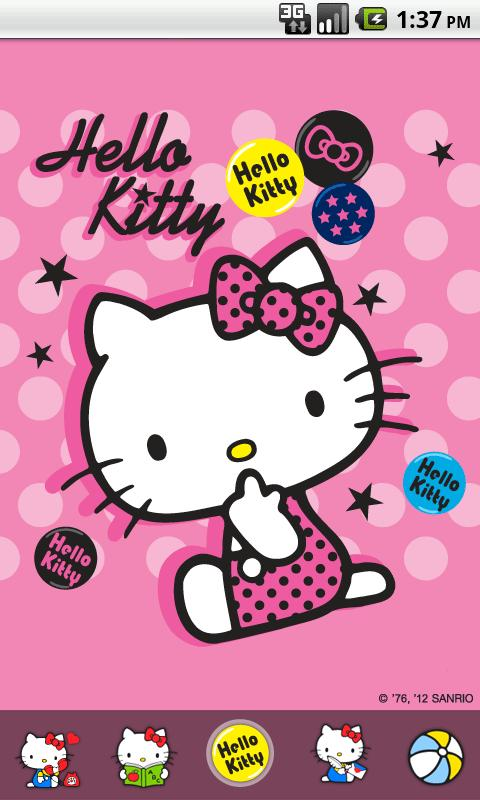 Hello Kitty Chic Theme 1 0 APK Download - Android
