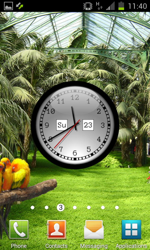 Clock Live Wallpaper Pro APK Download - Android Personalization Apps
