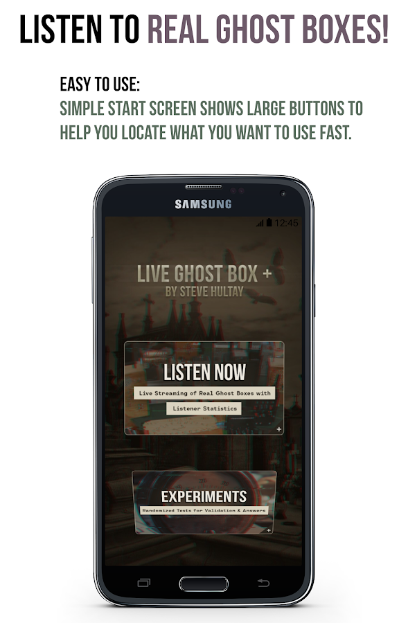 Live Ghost Box Plus 1 0 APK Download - Android Communication