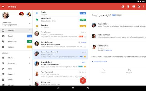 Gmail  screenshot 6