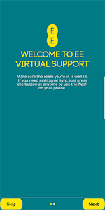 com.ee.ar.virtualsupportar 3.0 screenshot 1