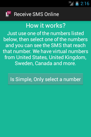 Receive SMS Online 2 1 APK Download - Android Tools Apps