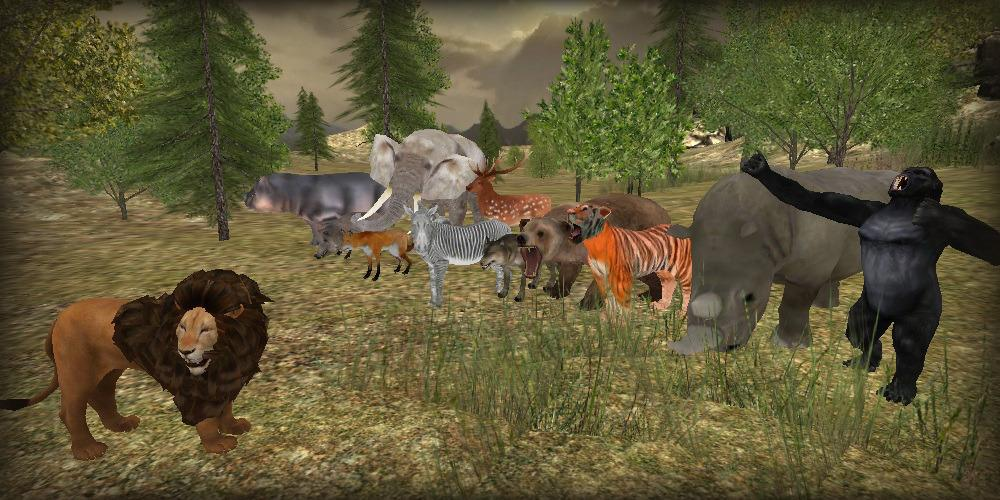 download game lion simulator apk