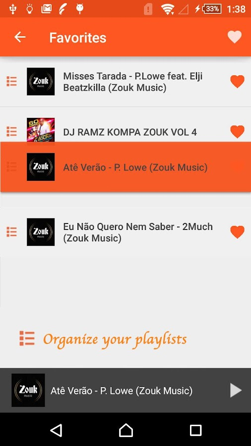 Zouker Kizomba Free Musics 1 0 1 APK Download - Android