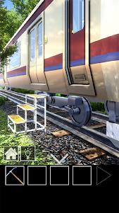 脱出ゲーム 電車のある道 1.21 screenshot 2