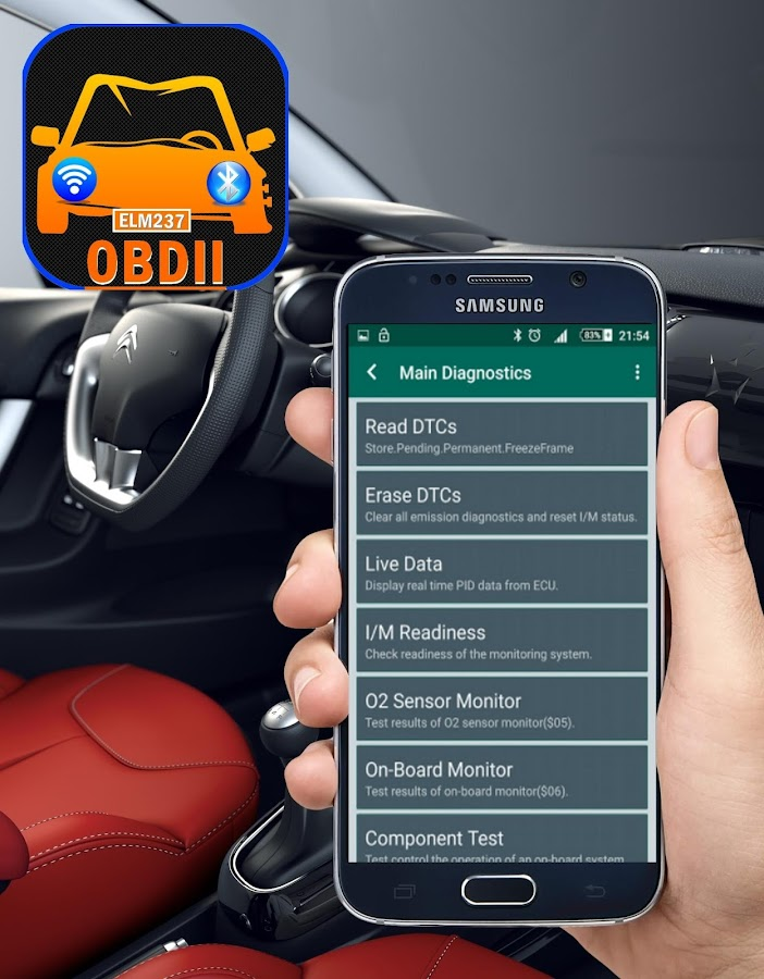 OBD2 & ELM327 - Scan & Clean Fault Codes 1 8 APK Download - Android