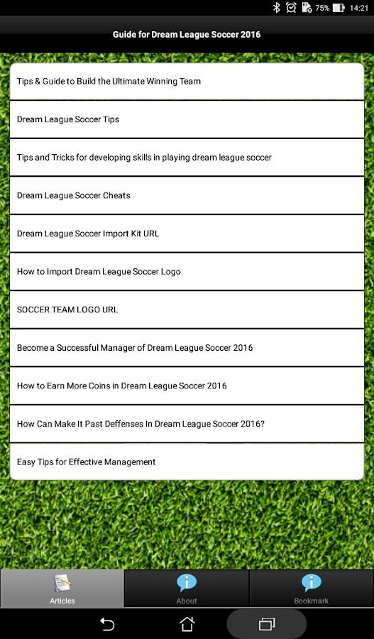 Guide+Dream League Soccer 16 1 1 APK Download - Android